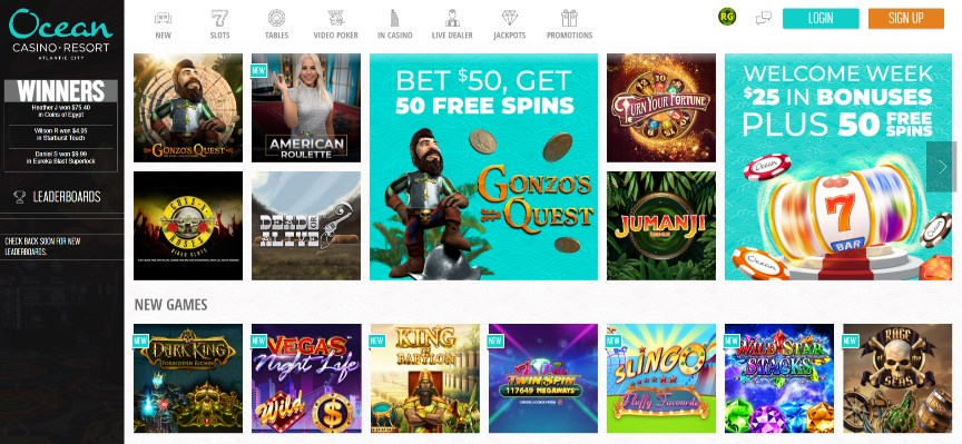 Ocean Resort Online Casino