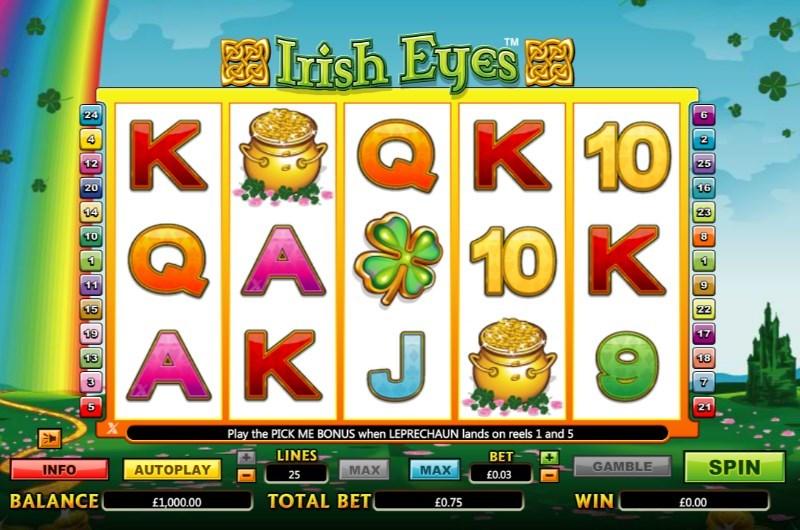 Irish Eyes Slots