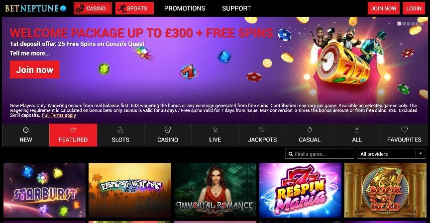 BetNeptune Casino