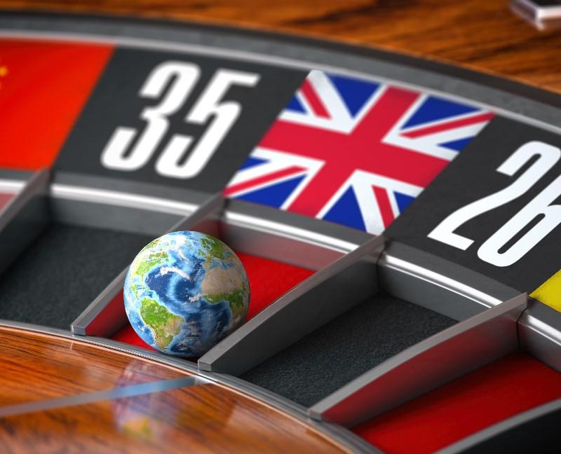UK flag Roulette
