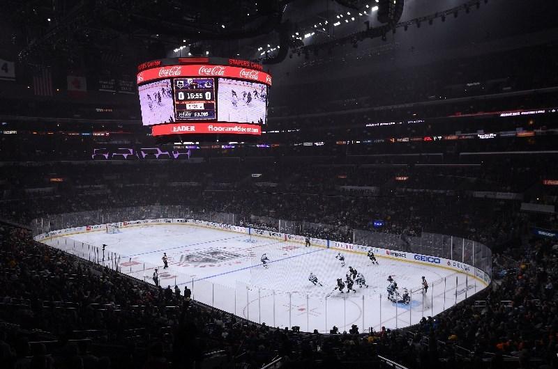 NHL ice hockey Los Angeles Kings