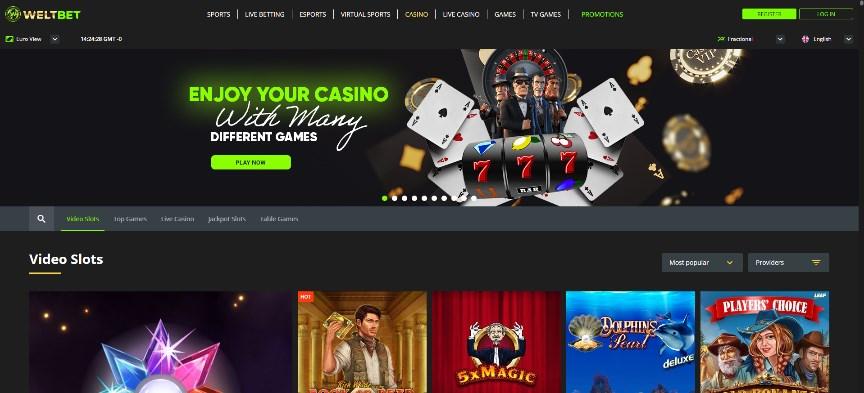 Weltbet Casino Review