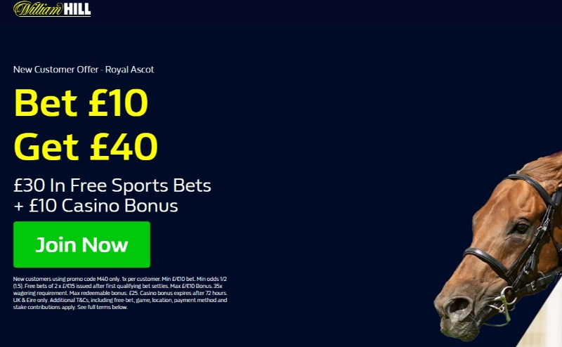 WH ascot offer