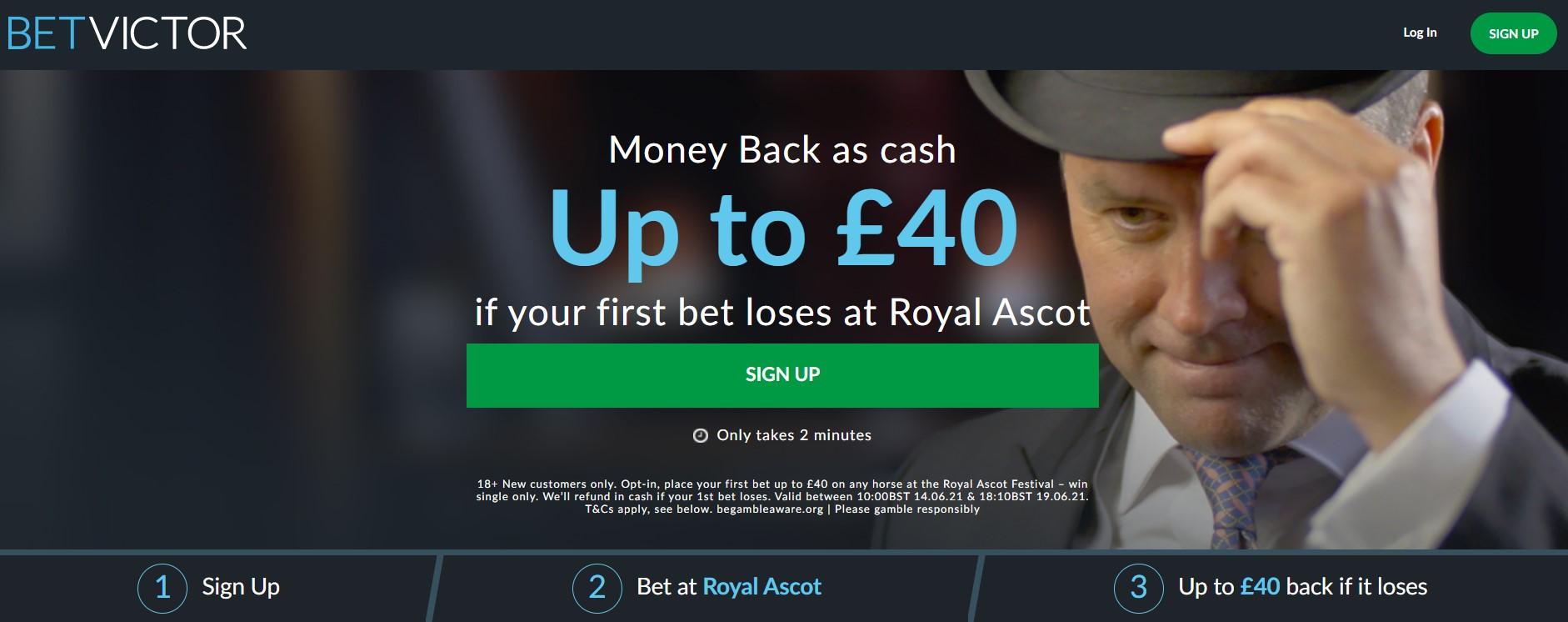 bv money back 40 ascot