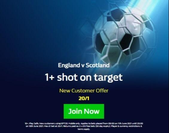 England vs Scotland William Hill Shots
