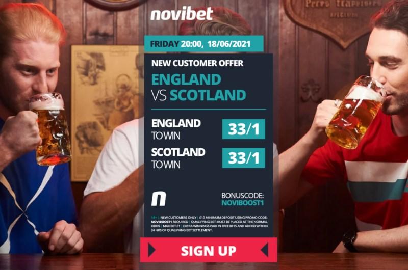 novibet england scotland boost