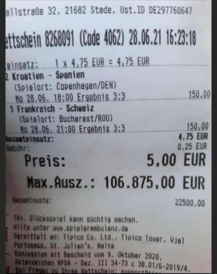 Euro 2020 Bet