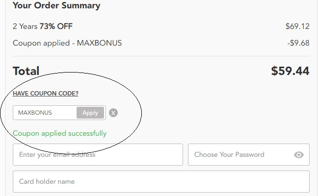PureVPN promo code MAXBONUS