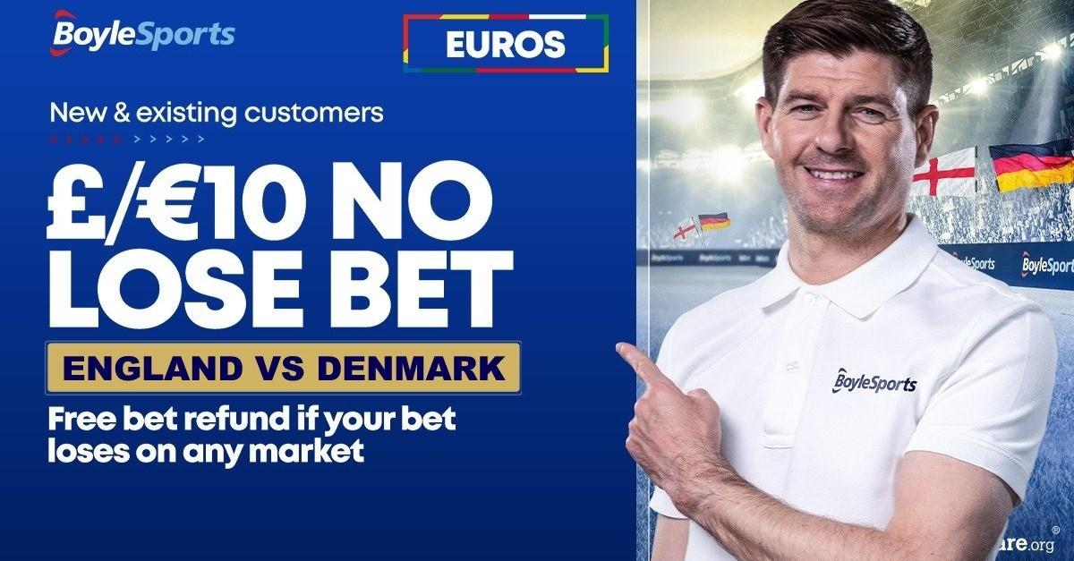 boylesports england denmark no lose