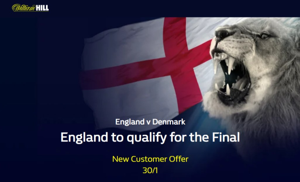 william hill england to qualify for euro 2020 final boost