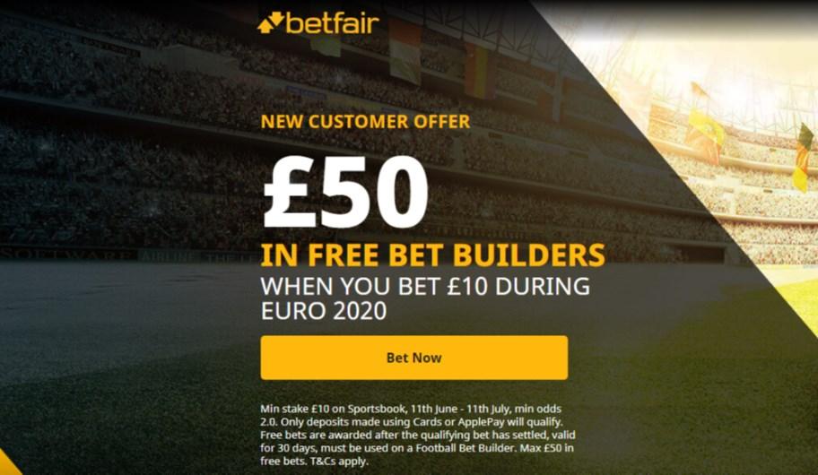 betfair 50 free bet builders