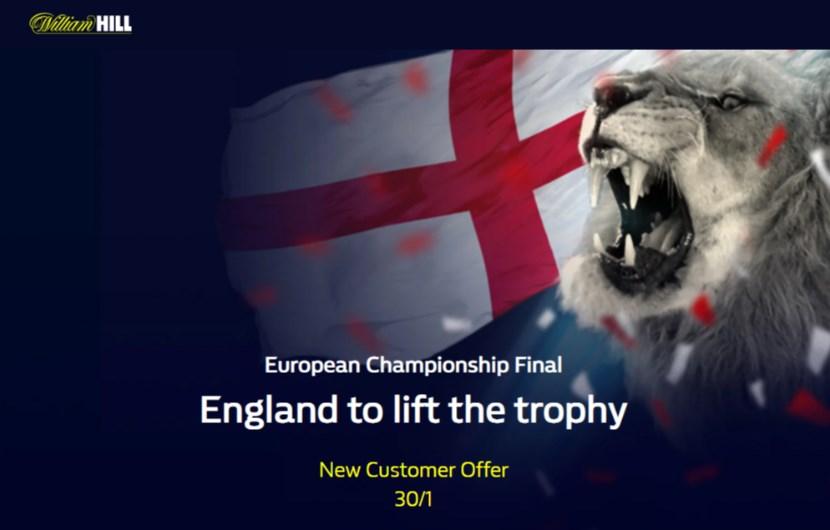 william hill england euro 2020 final boost