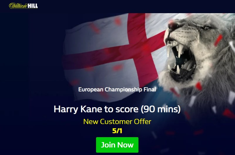 william hill kane england italy boost