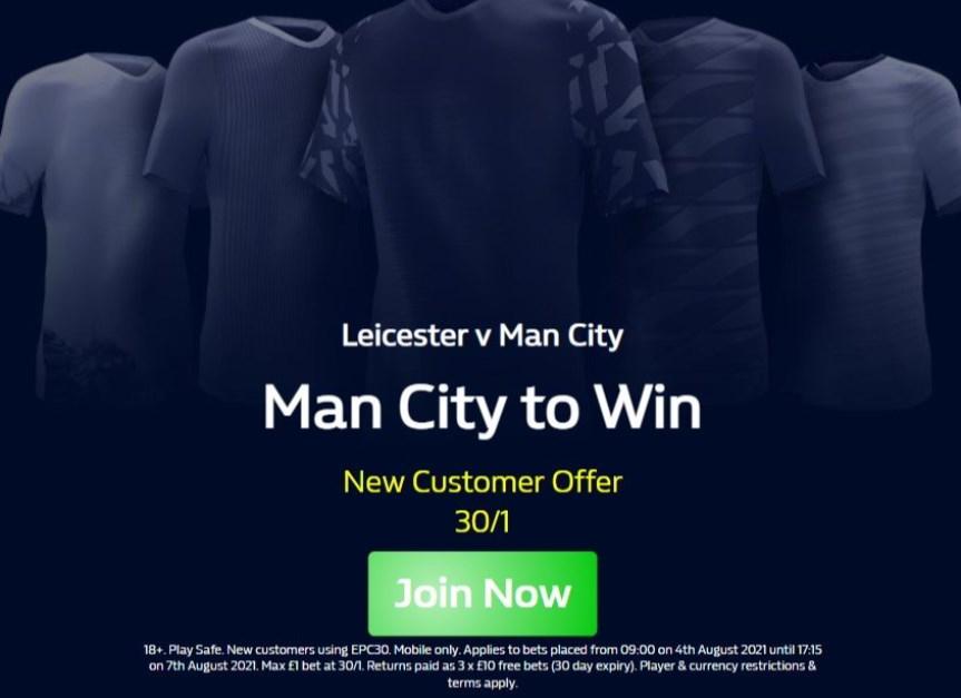 Man City Boost