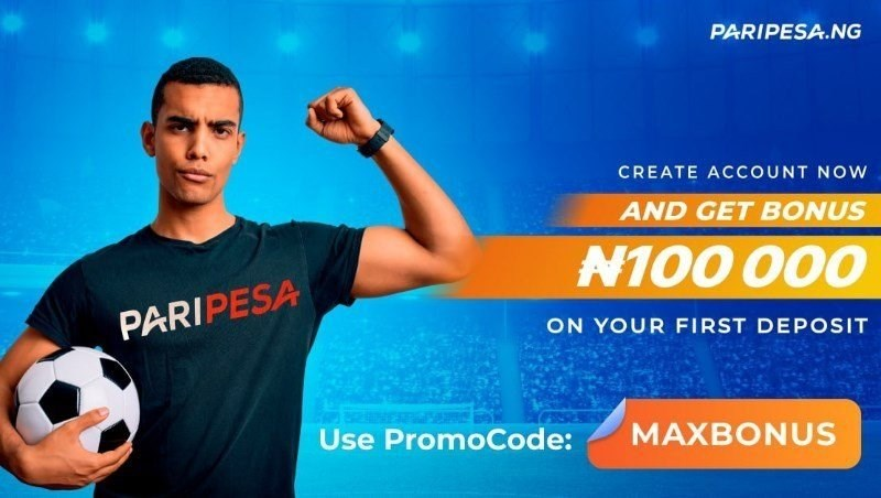 PariPesa promo code MAXBONUS