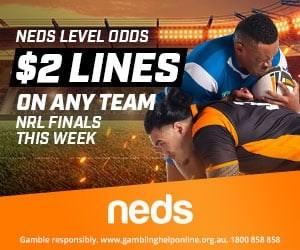 NRL Lines Neds