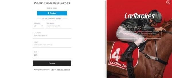 Ladbrokes Australia Referral Code