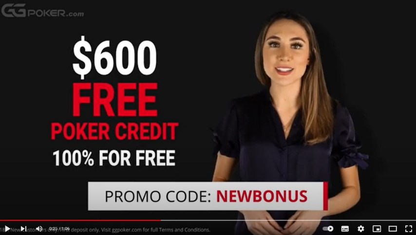 ggpoker promo code newbonus