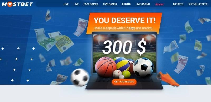 MostBet free bet