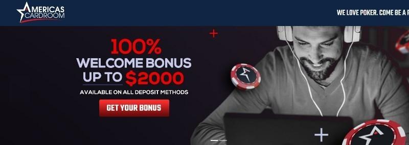 americas cardroom bonus