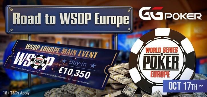 GGPoker Road To WSOP Europe