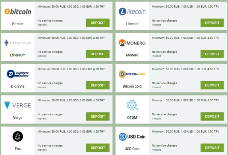 Linebet Cryptocurrencies